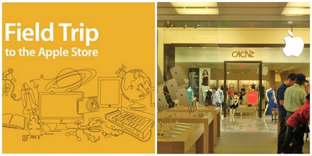 A {FREE} Field Trip to the Apple Store