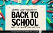 Oh how Pinteresting! {Classroom Decor}