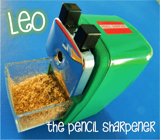 The 9 Verbs of Pencil Sharpening