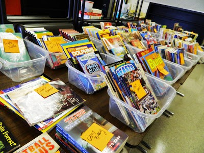 First Steps: Classroom Library Organization