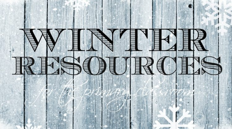 Winter Resources for 1st Grade