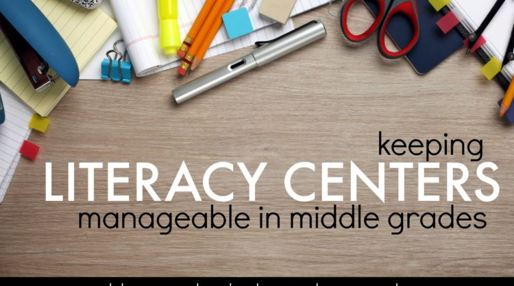 Literacy Centers for BIG Kids!