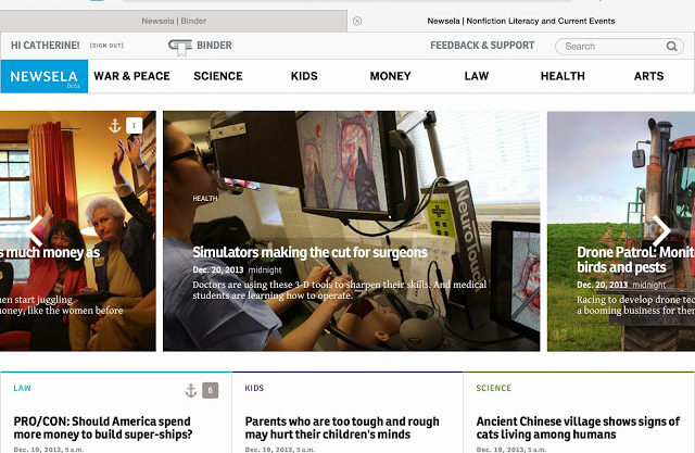 NewsELA: BEST Reading Website Ever!