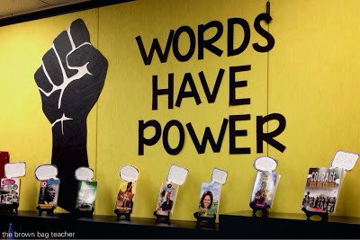 Words Have Power {Book Display}