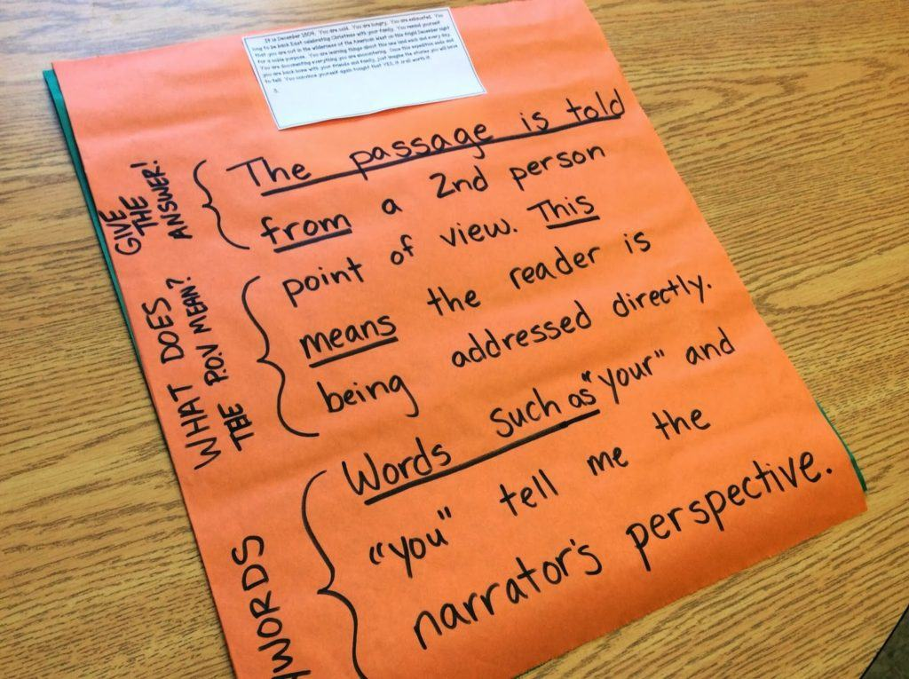 Following the Trail: Point of View! - The Brown Bag Teacher