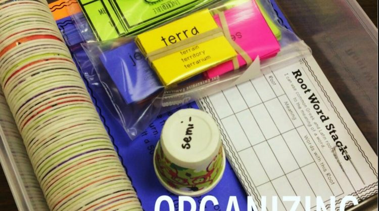 Storing & Organizing Hands-On Materials