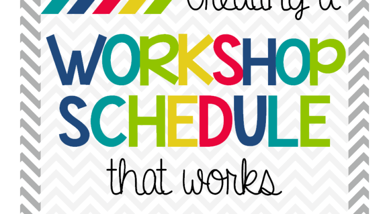 Creating a Reader's Workshop Schedule