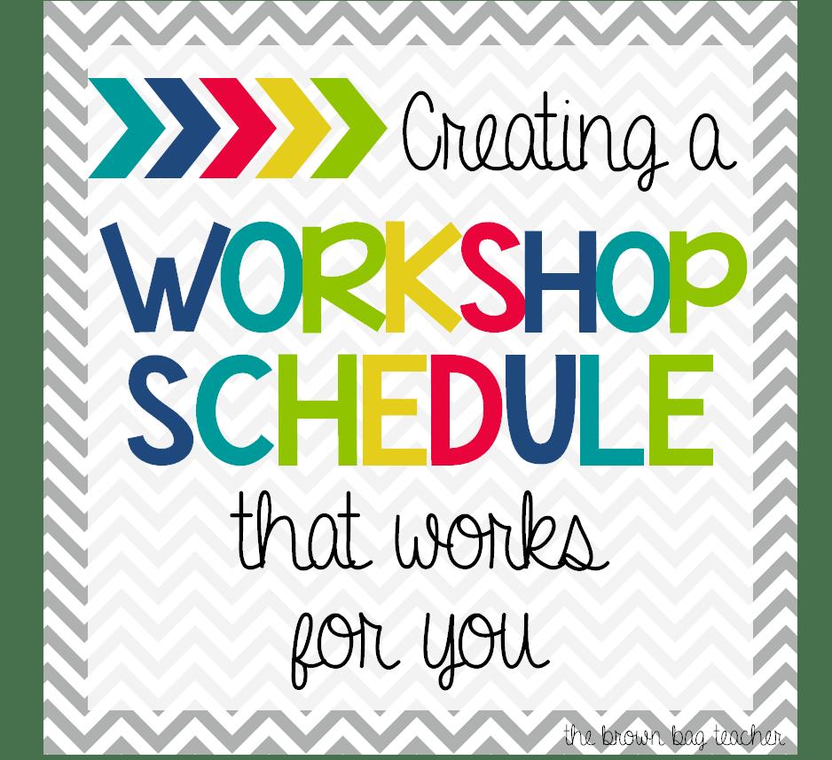 Creating a readers workshop schedule the brown bag teacher creating a readers workshop schedule saigontimesfo