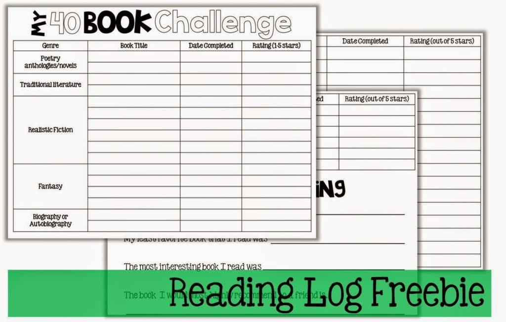 printable reading logs - Pertamini.co