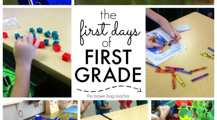 Our First Days in 1st Grade