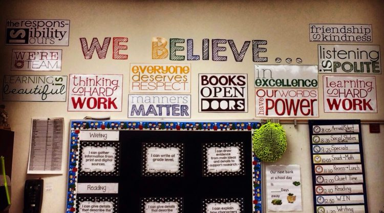 Classroom Photos: Resources in Action