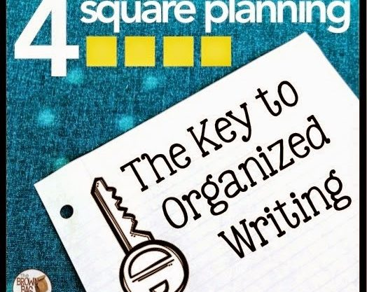 Organizing On-Demand Writing: The 4 Square Planner