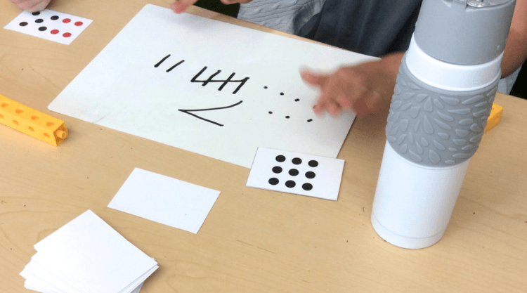 Representing Numbers and Making 10: Ten Frame Practice