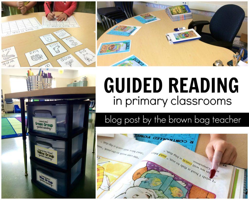guided reading steps for kindergarten