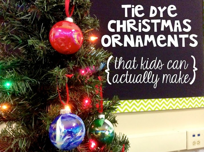 Christmas Ornaments Kids Can Make - Parent Gifts - The Brown Bag Teacher