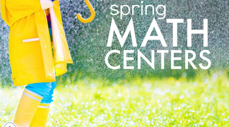 Guided Math and Math Centers: Spring in 1st Grade
