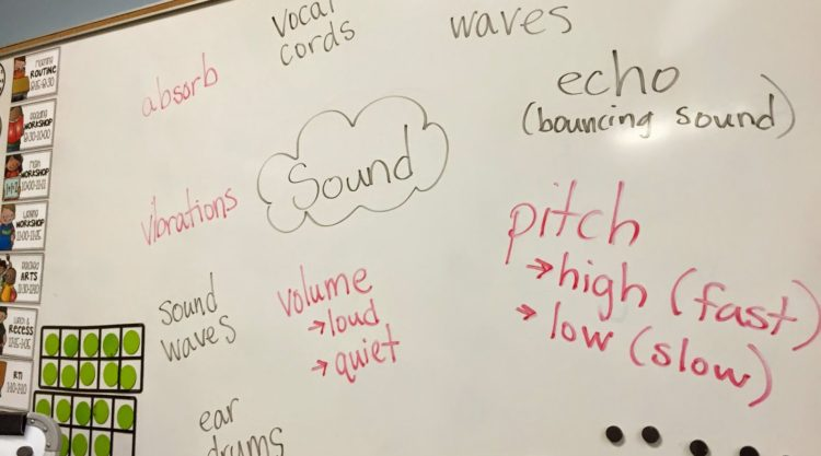 Teaching about Sound: 1st Grade Science