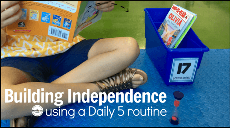 Building Independence with the Daily 5 Book, Chapter 3