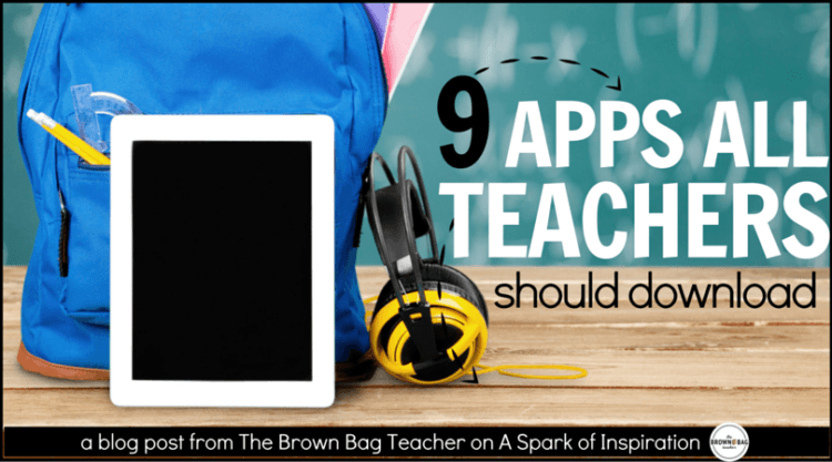 Apps Every Teacher Should Have