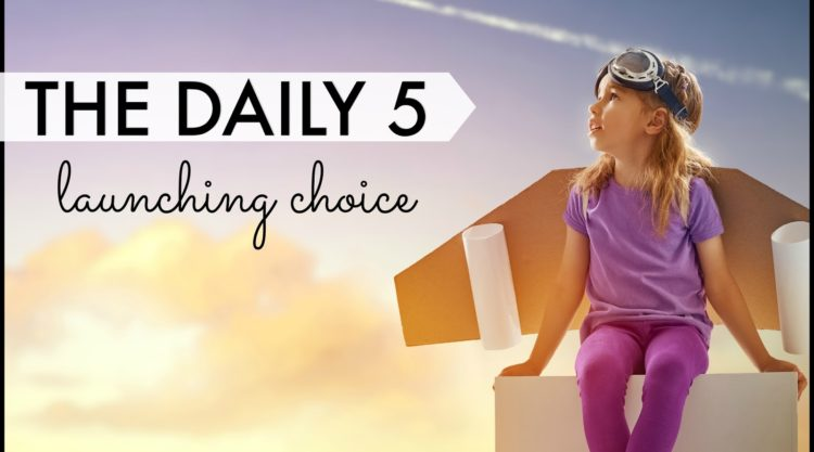 When to Launch the Next Daily 5 Choice, Chapter 7