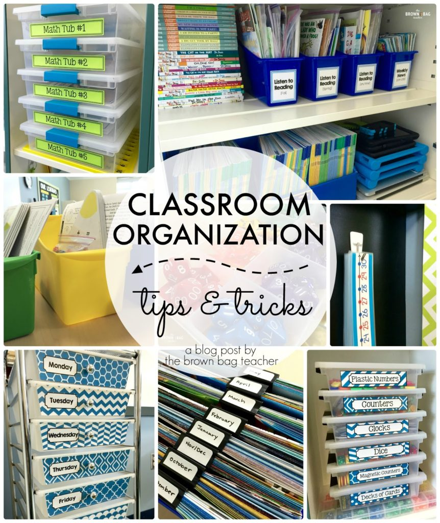 Classroom Storage Ideas ~ Classroom organization tips and tricks the brown bag