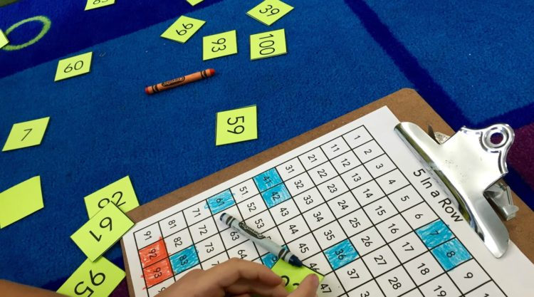Launching Math Centers