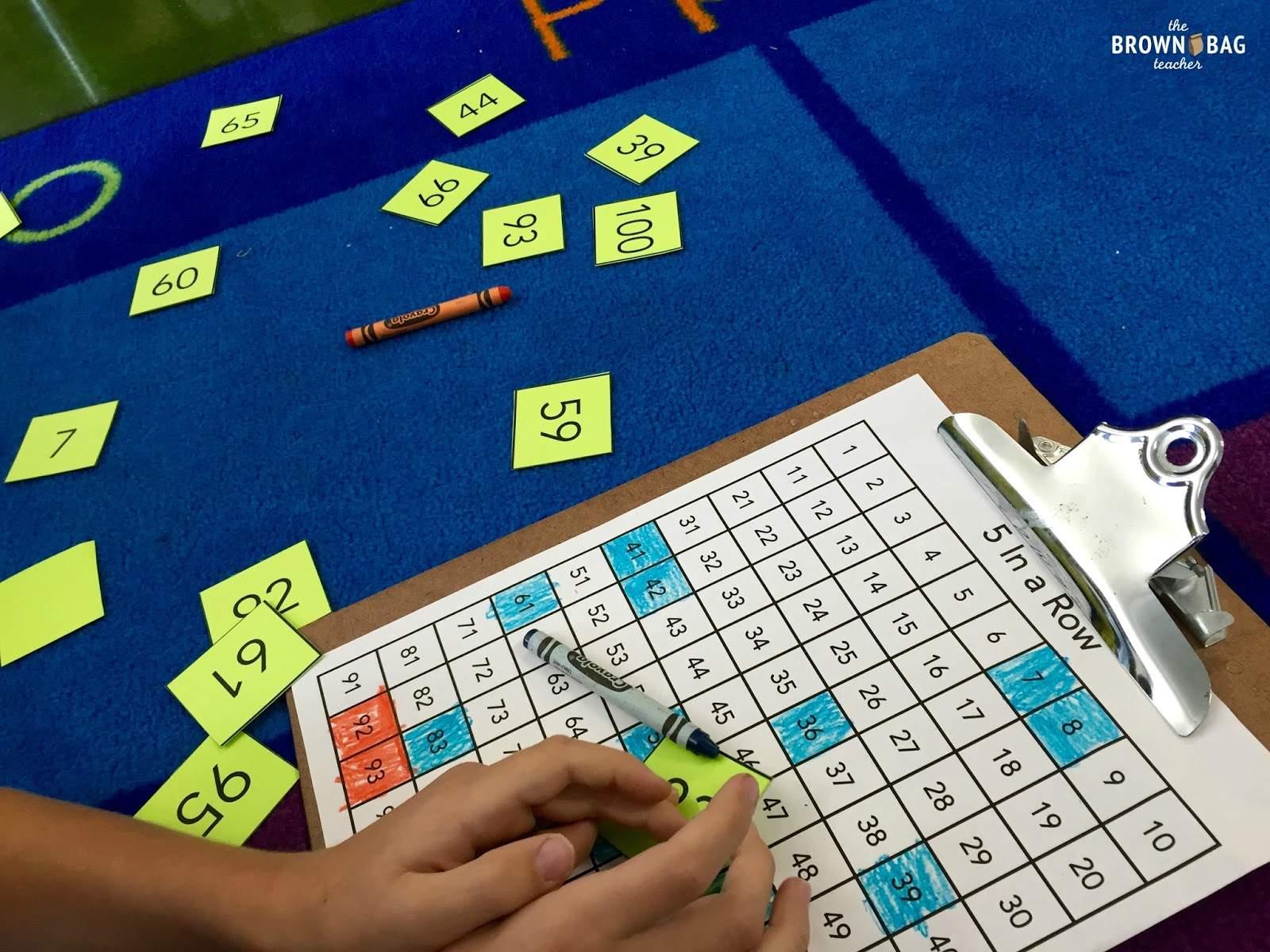 Launching Math Centers - The Brown Bag Teacher
