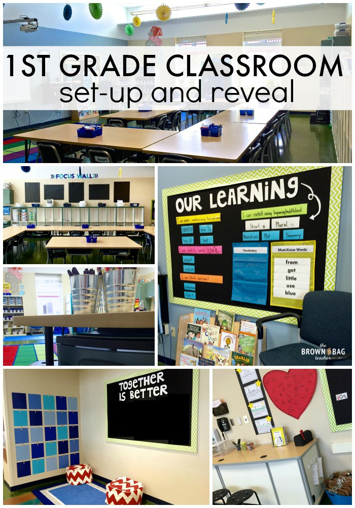 Classroom Theme Ideas Grade ~ St grade classroom reveal the brown bag