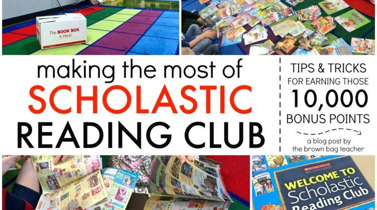 Scholastic Reading Club: Tips & Tricks