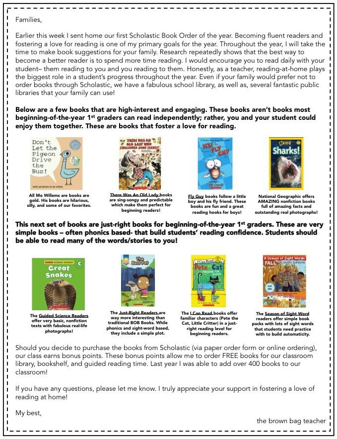 Scholastic Reading Club Tips Tricks The Brown Bag Teacher