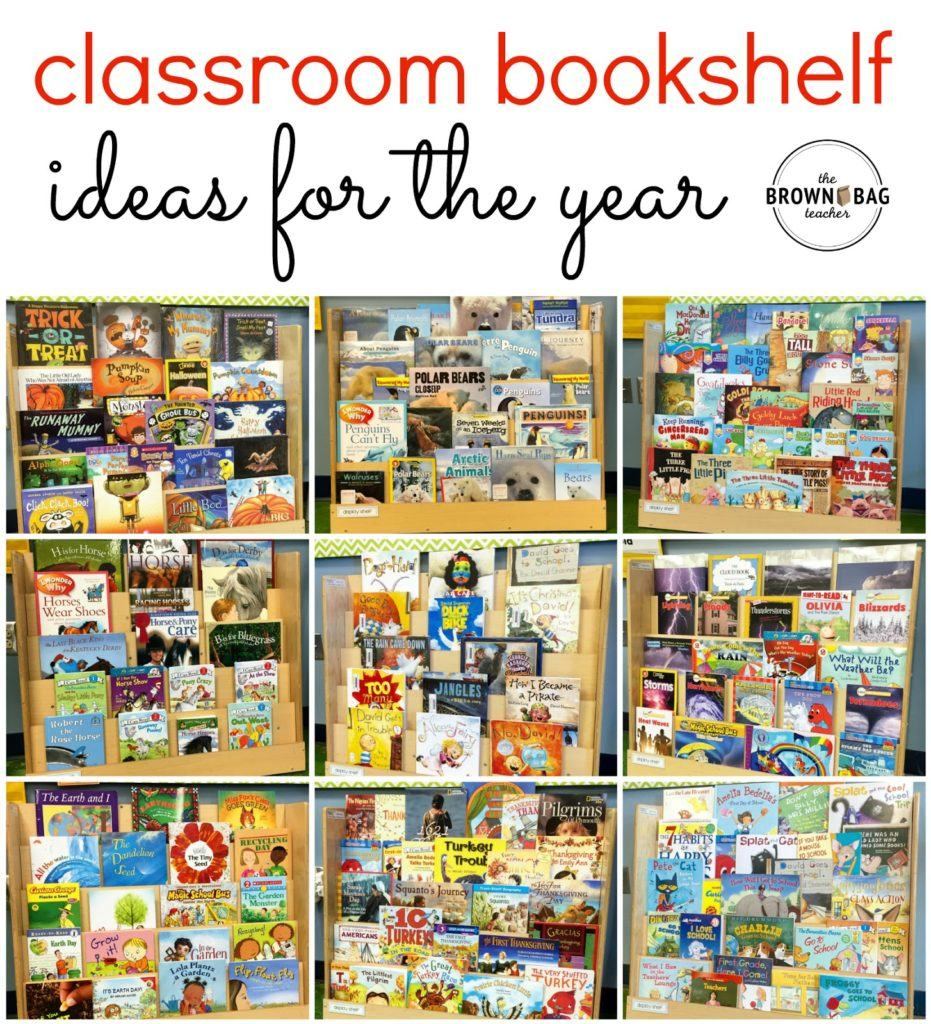 Classroom Library Themes for 1st and 2nd Grade