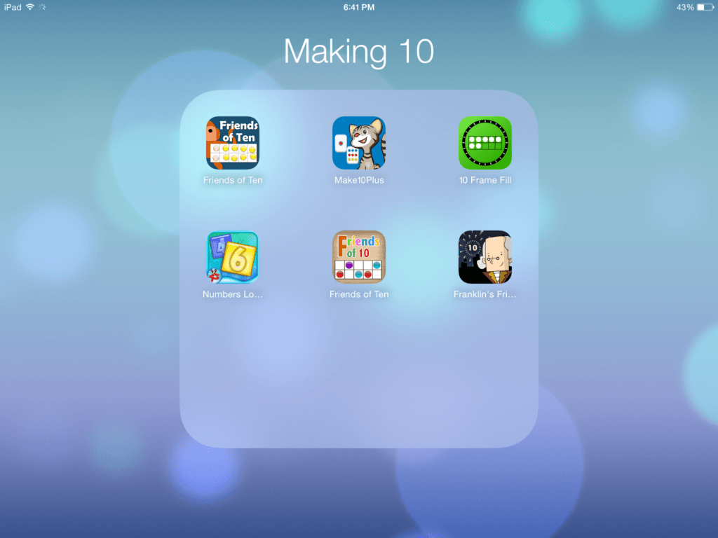 Apps for Making 10 - The Brown Bag Teacher