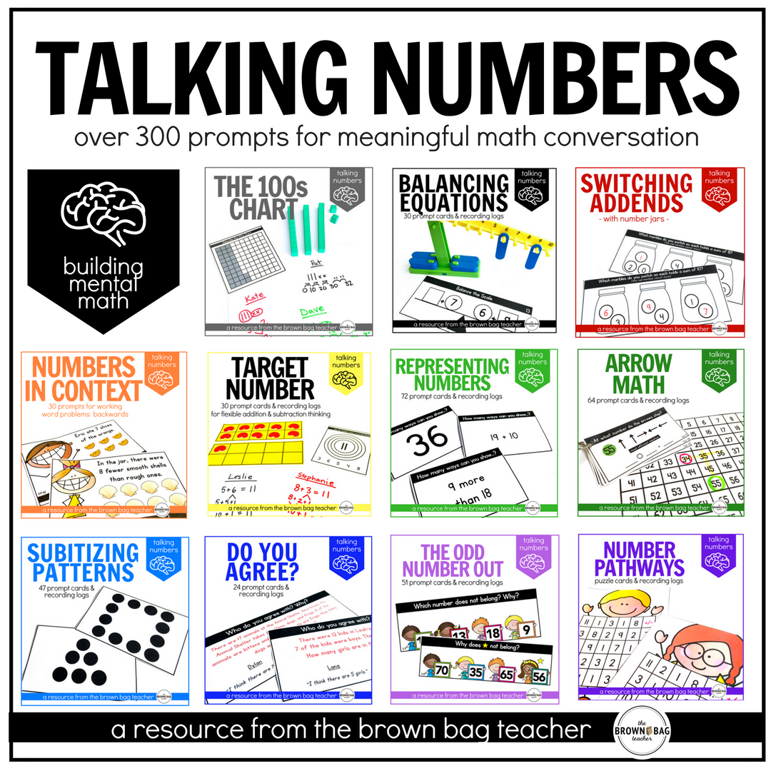 Number Talks: How and Why? - The Brown Bag Teacher