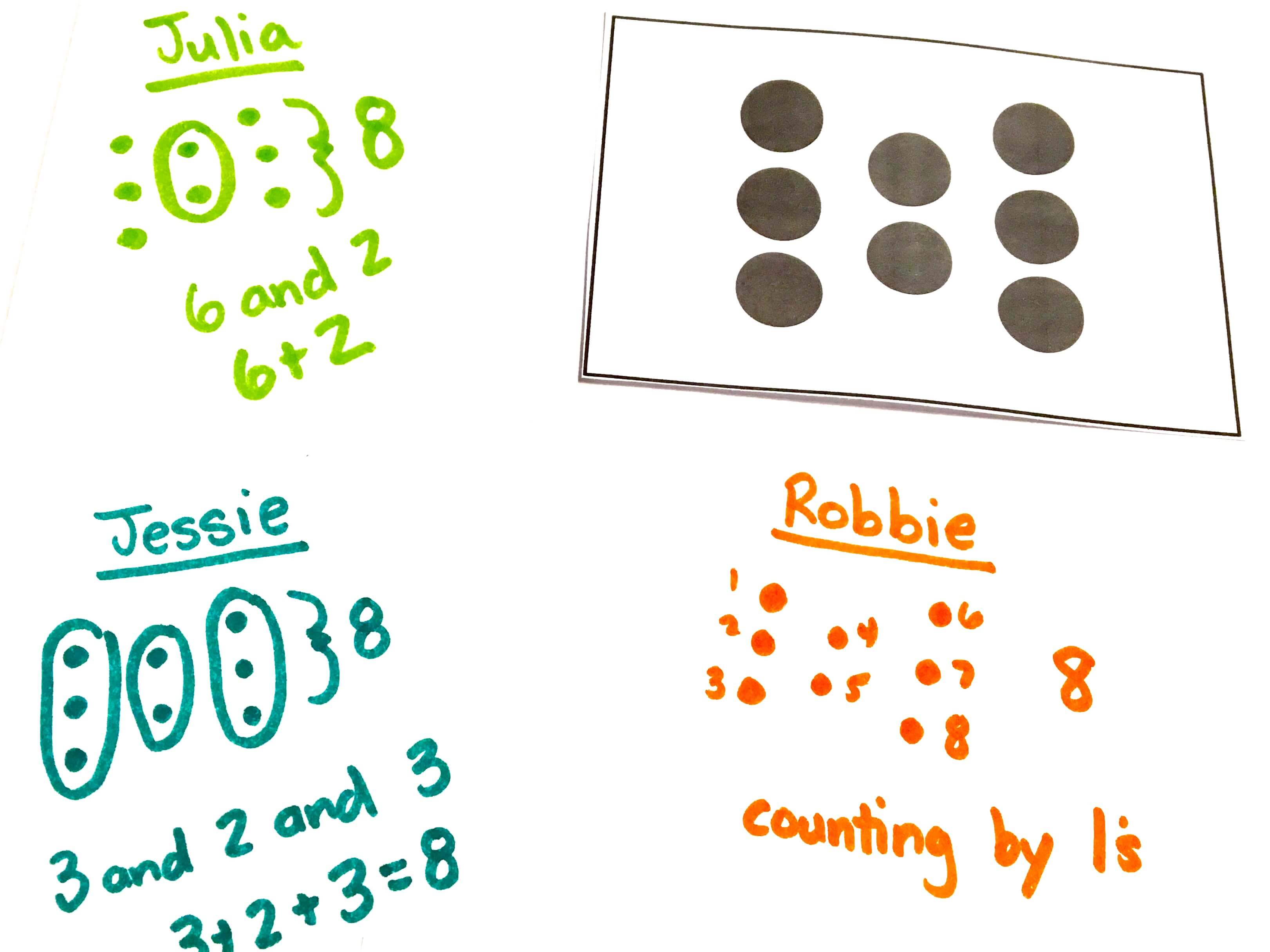 Number Talks can be built into your daily schedule as short, daily exercises aimed at building number sense and flexibility in number thinking.