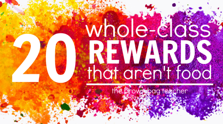 20 Positive Behavior Rewards that Aren't Food