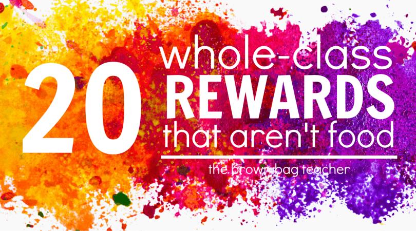 Classroom Break Ideas ~ Positive behavior rewards that aren t food the brown