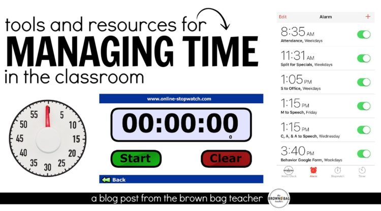 Managing Time in the Classroom