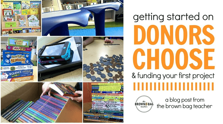 Getting Started on Donors Choose