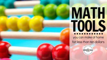 Math Tools You Can Make