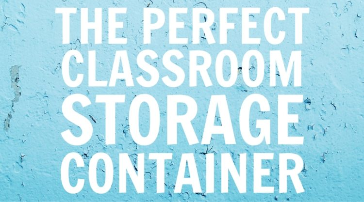 The Perfect Storage Container