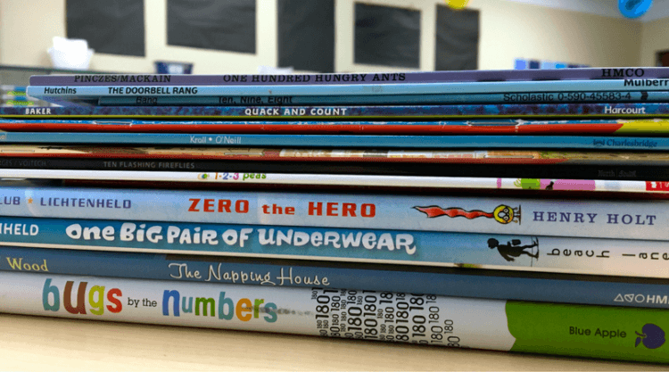 Math mentor texts are the perfect 'hook' for math mini-lessons. These 5 read alouds are just-right for fostering strong number sense in primary learners.