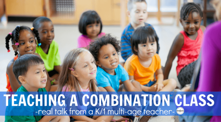 Split classes? Combination classes? Multi-age classes? Whatever you call them, they are a challenge! See how I structure my K/1 classroom and make it all work!