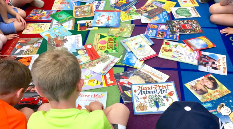 Snag hundreds of FREE picture and chapter books for your classroom library or student book bins from your local Half-Price Book Store.