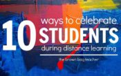 Celebrating Students during Distance Learning